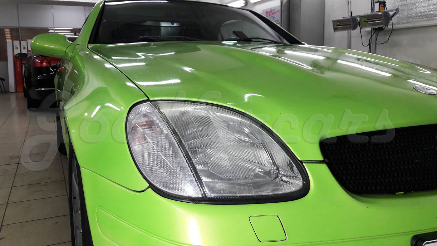 Ceramic Pro Light на Mercedes SLK